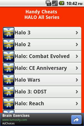 Halo All Series Cheats Free - screenshot