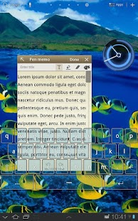 Transparent Keyboard Tablet- screenshot thumbnail