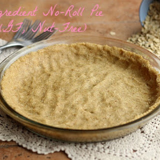 No-Roll Pie Crust (Gluten-Free, Nut-Free)