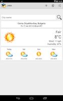 Screenshot of JAWA (Weather) Plus