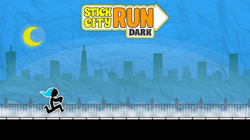 Stick City Run Dark: Running