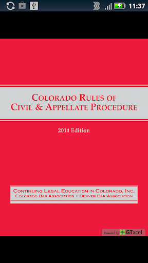 Colorado Bar Association CLE
