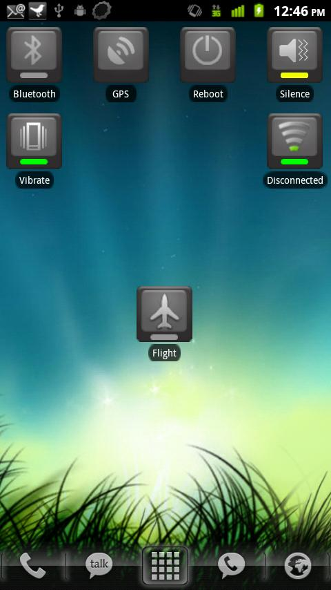 Airplane Mode Toggle- screenshot