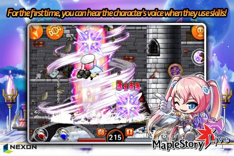 MapleStory Live - screenshot