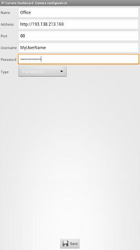 IP Camera Dashboard