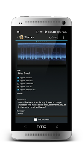 BlueSteel Icons CM11 Launchers
