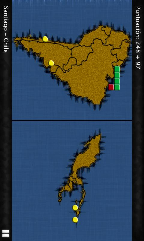 GeoSnake: Latin America- screenshot