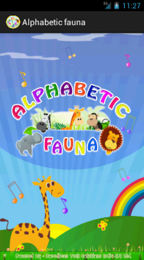 Alphabetic fauna