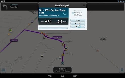 Waze - GPS, Maps & Traffic Screenshot 15