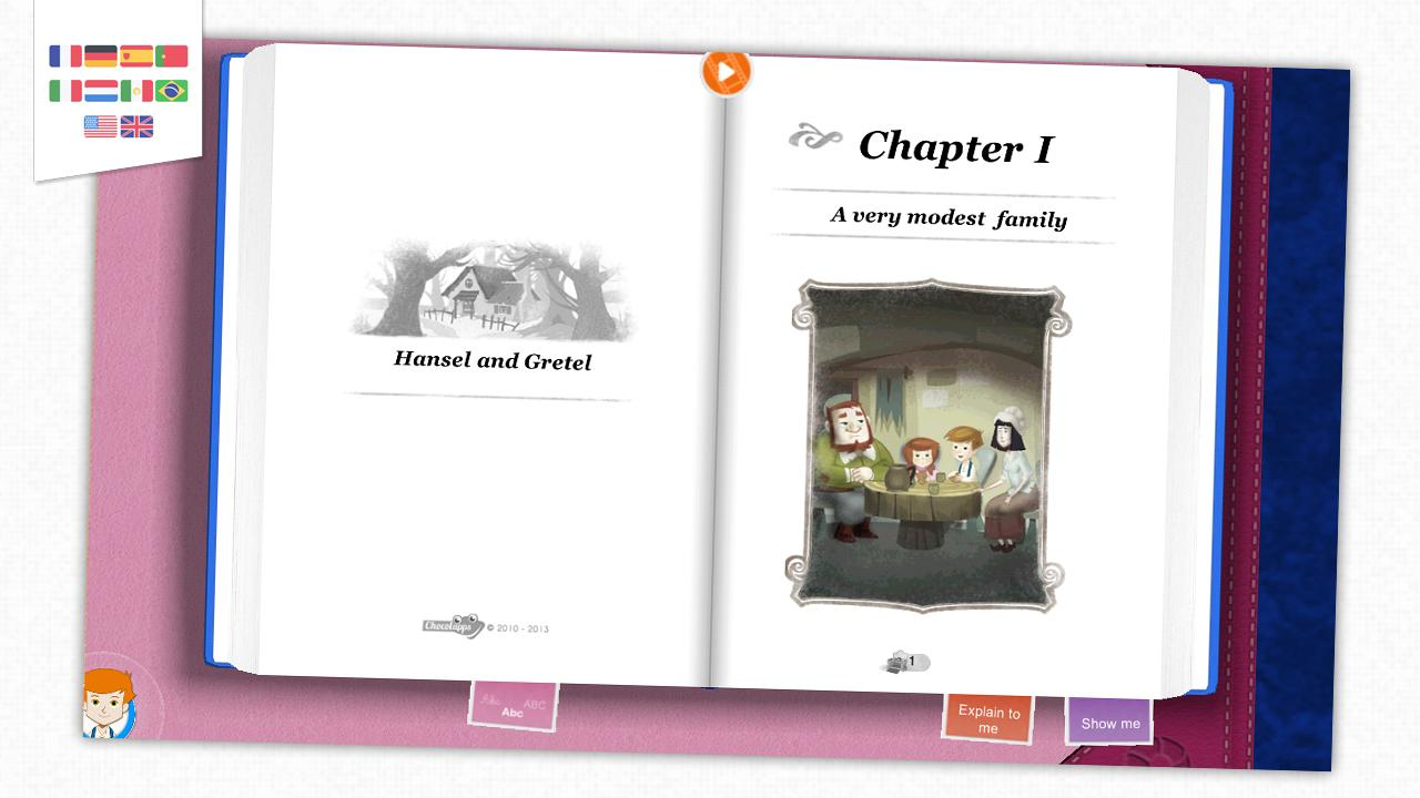 Hansel and Gretel - Kids tale- screenshot