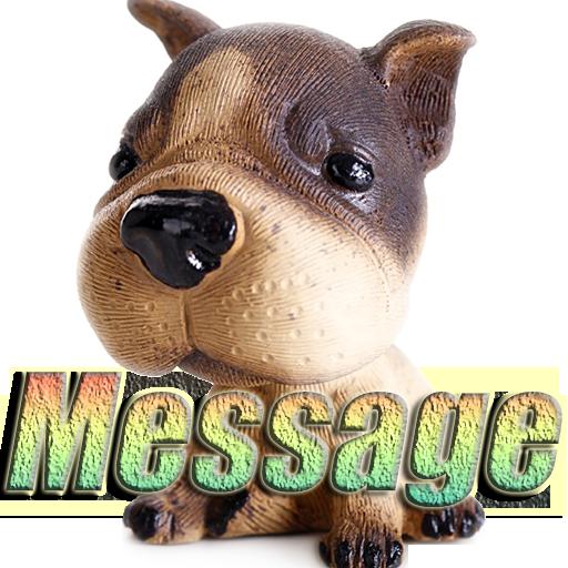 メッセージ·ドッグ 工具 App LOGO-硬是要APP