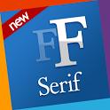 Serif free fonts 4 Samsung icon