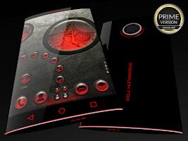 Screenshot of Steampunk Red - Next Theme