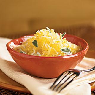 Lemon-Sage Spaghetti Squash