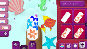 Screenshot of Nail Design Game for Girls