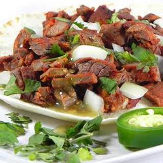 Arrachera (Skirt Steak Taco Filling).