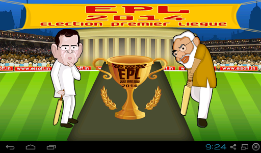 EPL Election Cricket 2014