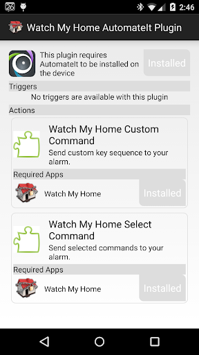 Watch My Home AutomateIt