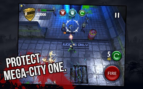 Judge Dredd vs. Zombies - screenshot thumbnail