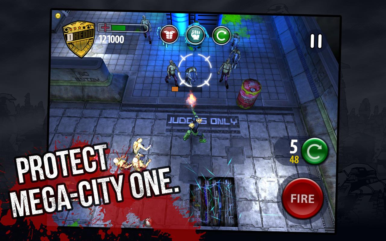 Judge Dredd vs. Zombies - screenshot