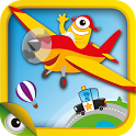 Planet Go: vehicles games kids icon