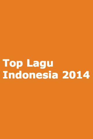 Top Lagu Indonesia 2014 HD