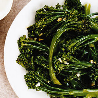 Sauteed Broccolini with Garlic.