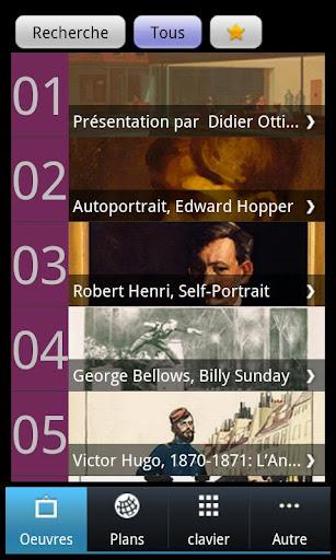 Hopper l'audioguide