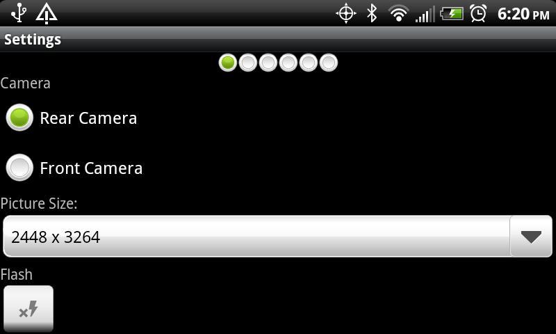 Camera Trigger Shot- screenshot
