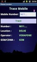 Screenshot of Phone Locator(Indian mobile)