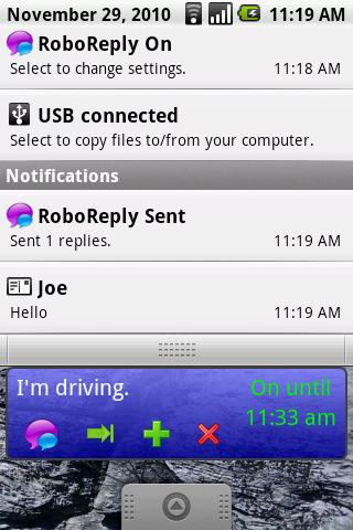 Robo Reply Widget- screenshot