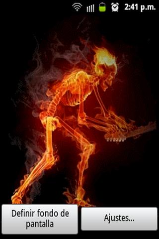 Fire skeleton LW