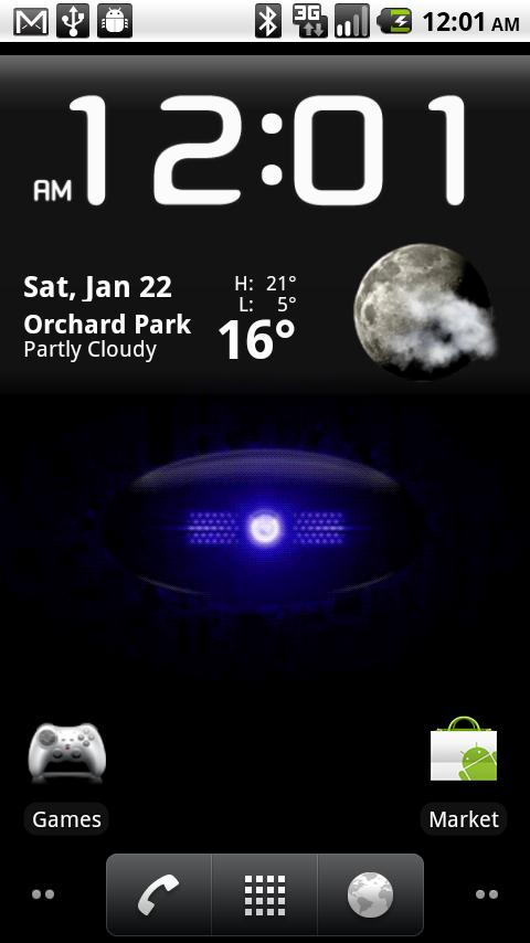 The Droid Eye Live Wallpaper - screenshot