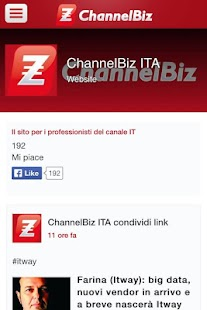 ChannelBiz.it- screenshot thumbnail
