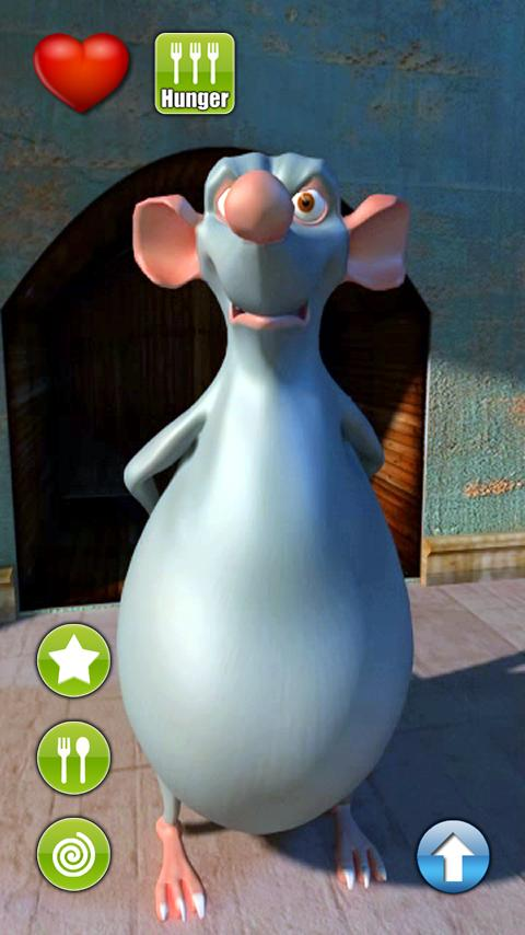 Talking Robert Rat - screenshot