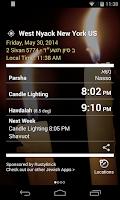 Screenshot of Shabbat Shalom