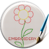 Embroidery Theme Keyboard