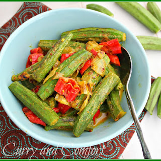 Okra Curry with Coconut Milk (Throwback Thursday) Recipe