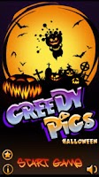 Screenshot of Greedy Pigs Halloween