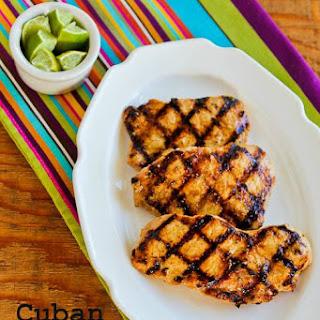 Grilled Cuban Pork Chops Mojo