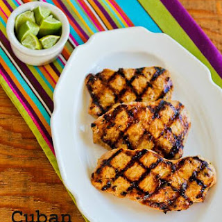 Grilled Cuban Pork Chops Mojo.