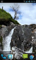 Screenshot of Waterfall Live Wallpaper HD 2
