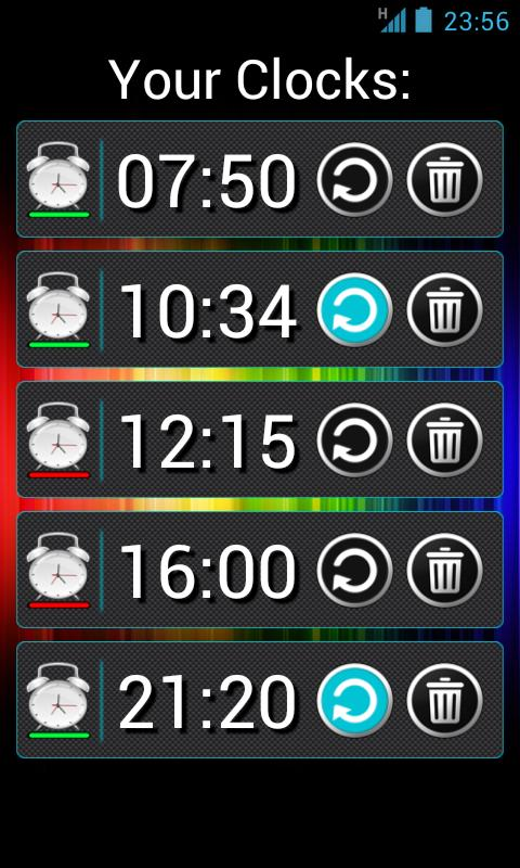 Talk Clock- screenshot