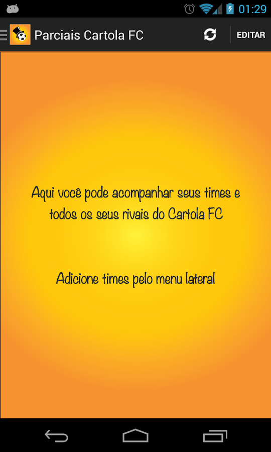 Parciais Cartola FC - screenshot