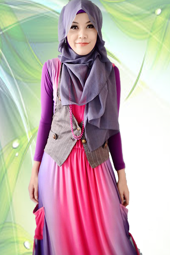 Hijab Fashion suit Photo