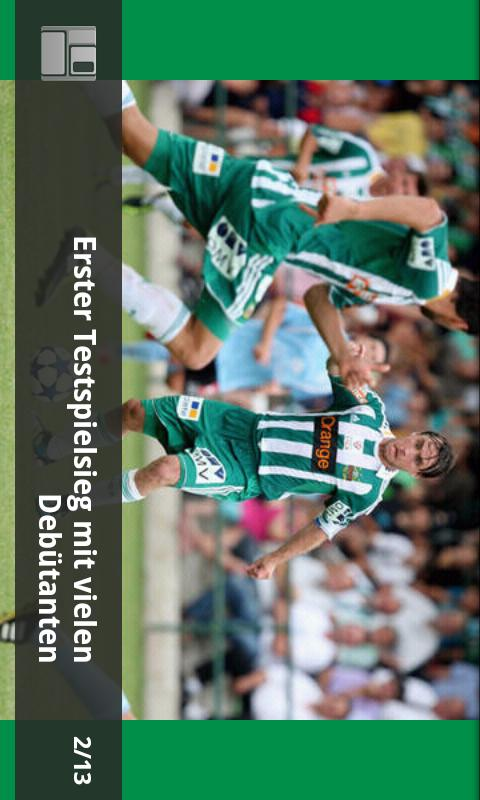SK Rapid App - screenshot