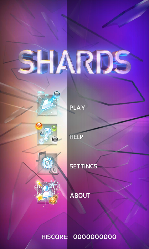 Shards - the Brick Breaker- screenshot