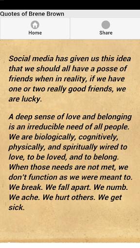 【免費娛樂App】Quotes of Brene Brown-APP點子