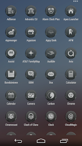 VM9 Black Glass Icons v2.04
