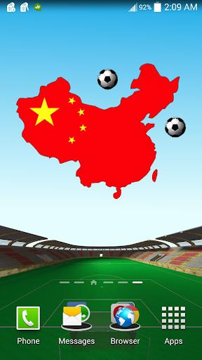 中国足球的动态壁纸